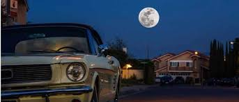 How long would it take to drive your car upwards to the moon at