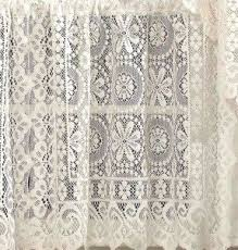 Heirloom Lace Curtains Valance Lace Shower Curtain Foter