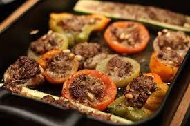 cuisine dietetique recette diététique légumes farcis moelleux au boeuf