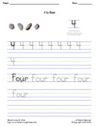 handwriting for kids mathematics numbers