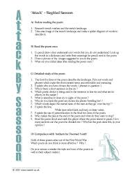 key stage 4 poetry english teaching resources teachit english