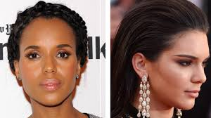 hairsyles that minimize the nose how to hide dandruff 5 hairstyle ideas that disguise flakes allure