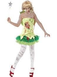 Halloween Costumes Tinkerbell Adults Zombie Tinkerbell Fairy Costume Womens Ladies Scary Halloween