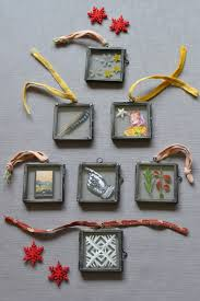 mini glass photo frames for the tree for sale at