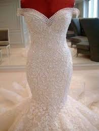 bling wedding dresses mermaid wedding dresses 2017 new shoulder bling
