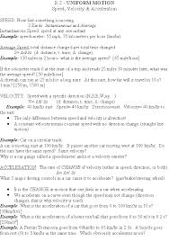Speed Velocity And Acceleration Calculations Worksheet Answers Midrev