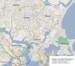 Green Line Map Boston by Theurbanring U2013 Vanshnookenraggen