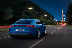 blue porsche 2017 2017 porsche panamera gets a long overdue facelift