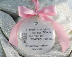 infant loss christmas ornaments in memory miscarriage gift infant loss remembrance memorial