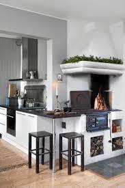 kitchen fireplace designs kitchen amazing rustic scandinavian kitchen designs with fireplace