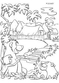 jungle book 2 coloring pages coloring home