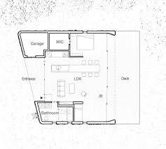 small c plans gallery house c a casual seaside retreat hiroshi nakamura