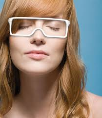 Blind People Glasses Braille Sight Produces A Tactile Diagram Of Its Surrounding For