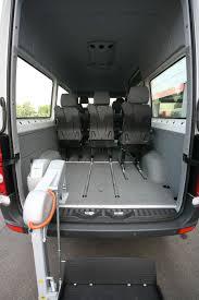 volkswagen crafter interior volkswagen crafter wheelchair accessible minibus fiorella ws