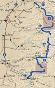 map of hwy 58 oregon the west cascade scenic byway tripcheck oregon traveler
