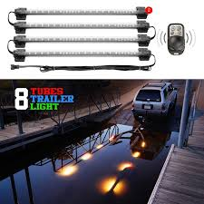 xkglow boat trailer docking multi color led light kit with