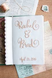 Travel Themed Wedding Hand Embroidered Travel Themed Wedding Guestbook U2014 Kitty Cat Stevens