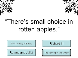 student survive 2 thrive famous shakespeare quotes trivia game