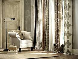 Smocked Burlap Curtains Burlap Drapery Panels Tile Burlap Curtain Panel Draperies Tiebacks