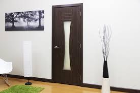 Walnut Interior Door M 61 Black Walnut Laminated Modern Interior Door