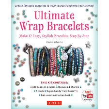 cord bracelet kit images Ultimate wrap bracelets kit tuttle publishing jpg