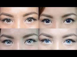 color contact lens guide review dark eyes