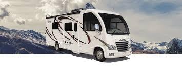 axis ruv class a motorhomes thor motor coach