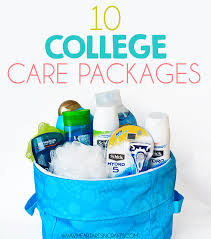 college care packages 10 ideas for college care packages i heart arts n crafts