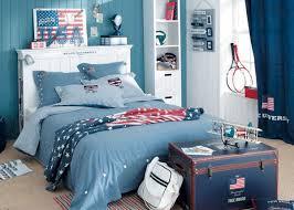 chambre ado fille bleu deco chambre ado garcon bleu gris visuel 6