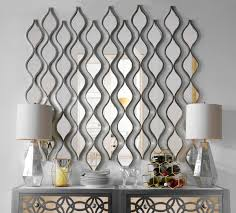 Decorative Framed Mirrors Single Silver Teardrop Panel Mirror 6 25x58 75 Room And Living