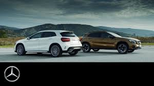mercedes gla compact suv the gla fitness programme for compact suv trailer