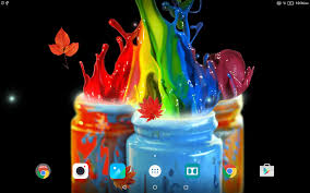 live halloween background ink in water live wallpaper android apps on google play