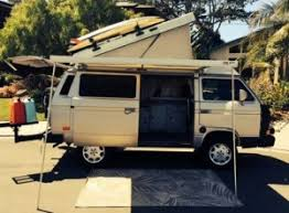 Westfalia Awning For Sale Loaded 1991 Vw Vanagon Westfalia Camper 28 500 In Pismo Bech Ca