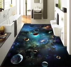 3d flooring 3d flooring sky solar system planet 3d stereoscopic floor bathroom
