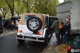 maybach mercedes jeep mercedes maybach g 650 landaulet 8 october 2017 autogespot