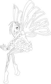 tecna sirenix full coloring page by icantunloveyou on deviantart