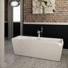 square freestanding bath 1500 interior design