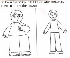 fat or thin activity worksheets for preschool crafts and
