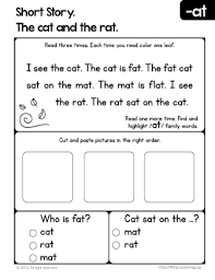 short story the cat and the rat primarylearning org