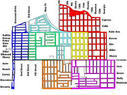 Long Beach Map Street Sweeping Schedule City Of Imperial Beach
