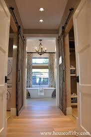 beautiful new hallway decor hallway runner barn doors and barn laundry room barn doors design ideas