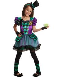 alice in wonderland halloween costumes party city miss mad hatter u0027s costume exclusively at spirit halloween