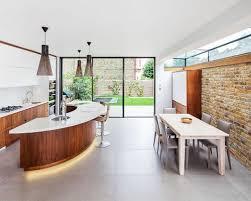 curved island kitchen designs curved kitchen island houzz