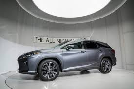 lexus rx blacked out 2018 lexus rx l is a three row suv that offers up to seven seats