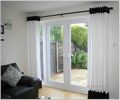 Window Coverings For French Doors Ideas For Window Treatments On French Doors Home Intuitive