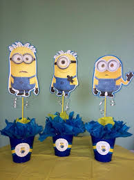 minions centerpieces 1 minion centerpiece minion centerpieces centerpieces and birthdays