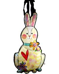 rabbit banner winter shopping deals on easter bunny banner easter and
