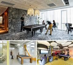 espace de travail collaboratif et salle de jeux avec table billard