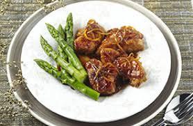 cuisiner ris de veau ris de veau croustillants au caramel de miel et d agrumes recettes