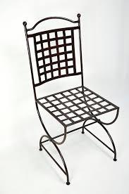 chaises en fer forg chaise en fer forgé robion mobilier en fer forgé aix montpellier